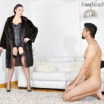 24.03.2016 – FemmeFataleFilms – The Hunteress – Foot Focus complete – foot worship, fur, humiliation, lingerie