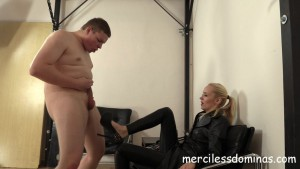 20.03.2016 – MercilessDominas – Mistress Sara – CBT The Czech Way Starring Madam Sara – humiliation, female supremacy, kicking