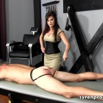 19.03.2016 – SyrenProductions – Goddess Deanna Storm – Caned By His Teacher – women spanking men, bare bottom spanking