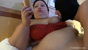 18.03.2016 – ClubStiletto – Mistress AppleBomb – She's Hungry – extreme, hardcore