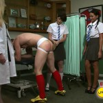 16.03.2016 – CFNMtv – Rugby Boy's Lesson in Pain part 1-2 – male humiliation, wanking, naked men