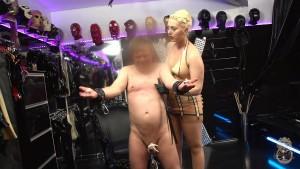 21.03.2016 – Elizabeth Garden – Electrified 1-2 – cruel, corporal punishment, femdom spanking