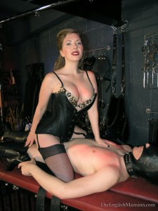 24.03.2016 – TheEnglishMansion – Mistress Sidonia, Mistress T – Double Fuck Home Movie – cock teasing, corset female orgasm
