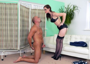 24.03.2016 – TheEnglishMansion – Miss Vivienne lAmour – Blushing Donor Boner Part 1 – cock humiliation, cock size humiliation, cum humiliation