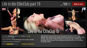 18.03.2016 – Life in the Elite Pain Club P.19 HD, extreme, fetish