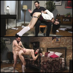 25.03.2016 – Privileged Brat Learns Lesson in Anal – hardcore, extreme, pain