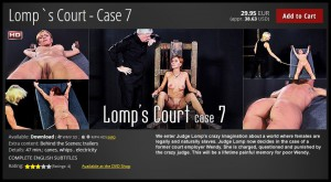 27.03.2016 – LOMP`S COURT – CASE 7 HD, canes, whips, electricity