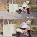 26.03.2016 – Got2Pee – Blonde In Boots – extreme, fetish, golden shower
