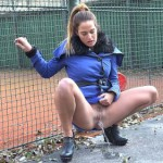 19.03.2016 – G2P – Down Low – outdoor, Peeing, piss, pissing, public piss