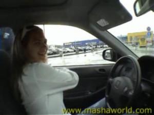 28.03.2016 – Masha – Masha and Marina Shopping – Hardcore, Blowjob, Home sex