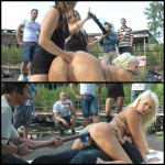 20.03.2016 – Busty Blond Slut Loves Being Publicly Fisted HD, outdoor, extreme