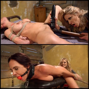 20.03.2016 – Room For Rent: Rich bitch rents out room for kinky lesbian sex HD, bondage, hardcore