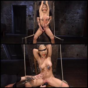 22.03.2016 – Cherie Deville Suffers in Brutal Bondage HD, humilation, bondage, hardcore