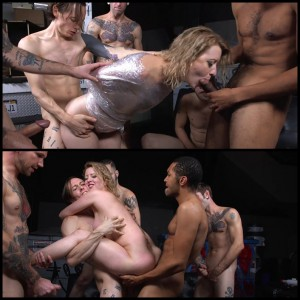 24.03.2016 – Recent divorcee gets double stuffed by and entire moving crew cock HD, BDSM, Gangbang, Anal, DP