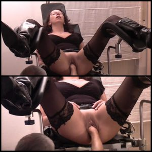 10.03.2016 – Fisting pussy on the gynecologist chair – Full HD 1080p