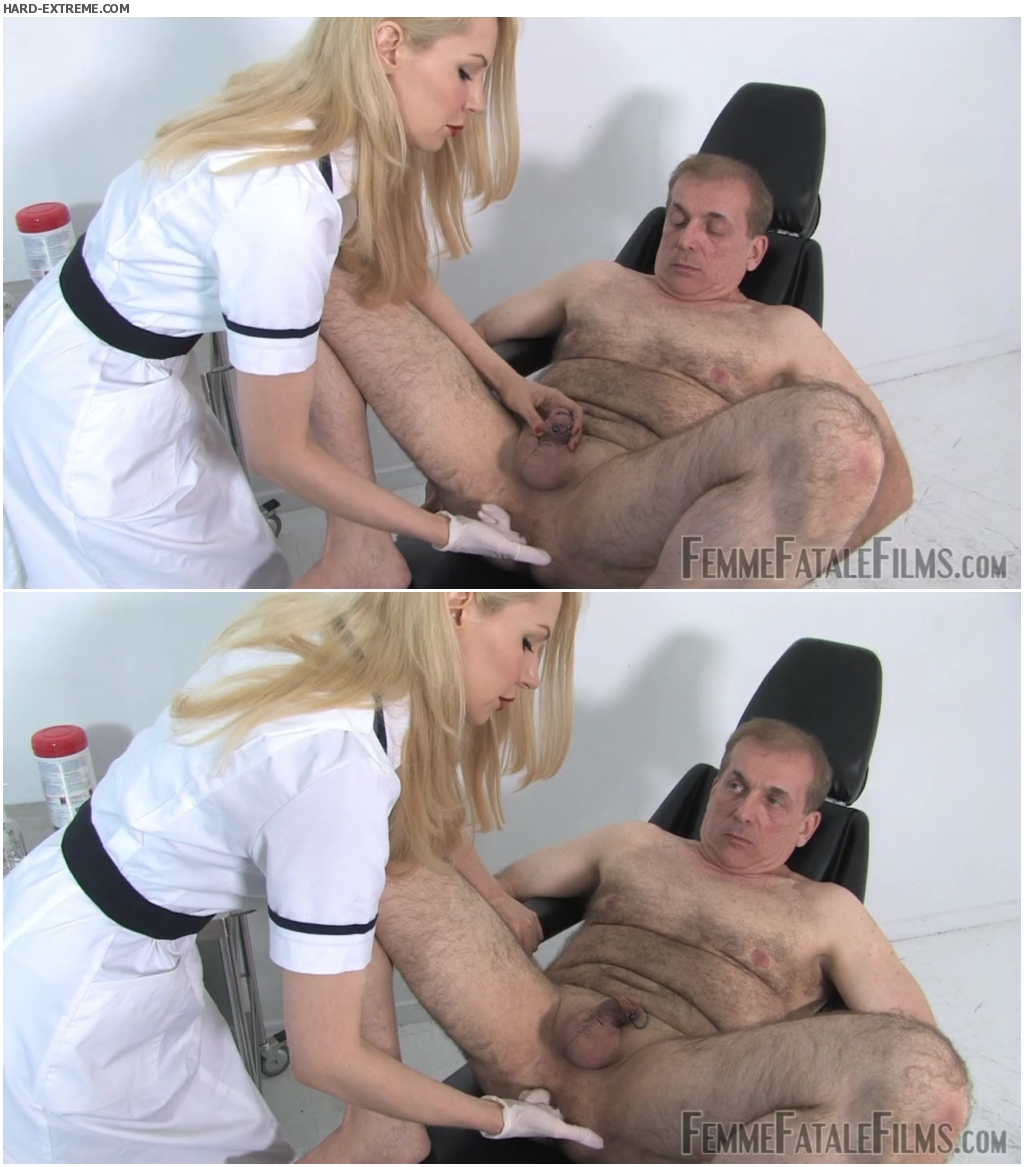 Medical fetish prostate stimulation handjob 5