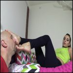 Release 21.04.2016 – Bratprincess – Sasha Foxx – Old Man Worships a Bratty Princess – licking feet, feet, smelly feet, depfile