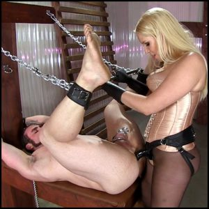 Release 25.04.2016 – VICIOUS FEMDOM EMPIRE – BBC Ass Whore Starring Mistress Vanessa Cage – Full HD-1080p, strap-on, BLONDES,BONDAGE DEVICE, depfile