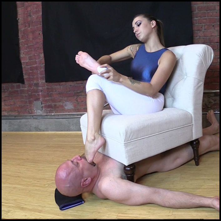 Jamie Valentine Foot Fetish