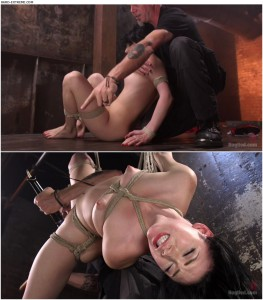Release 06.04.2016 – Aria Alexander in her First Ever Hogtied Shoot – HD, She suffers, tight bondage, through torment, depfile