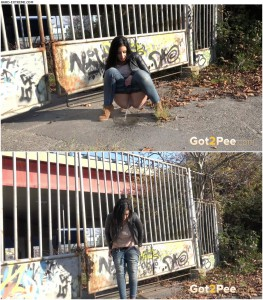 Release 05.04.2016 – Got2Pee – Graffiti Girl – girl pissing, got2pee, hot piss, depfile