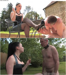 Release 04.04.2016 – TheEnglishMansion – Lady Sophia Black – In Service to Lady Sophia Complete – shoe worship, humiliation, domestic service, depfile