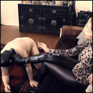 Release 11.04.2016 – AbsoluteFemdom – Leg Freak Lick My Boots – BOOT DOMINATION, LEATHER FETISH, depfile