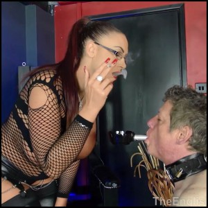 Release 11.04.2016 – TheEnglishMansion – Mistress Pandora – Queening Session Part 1-2 – boot worship, collar and lead, pussy licking, depfile