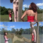 Release 06.04.2016 – Clubdom – Raven and Isobel – Whipping – slave torture, punishment, cane, caning, depfile