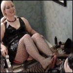 Release 13.04.2016 – Aliceinbondageland – Extreme Spiked Bondage – Footjob Chastity Release – Kali Teeth – HD, foot job, depfile