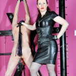 Release 13.04.2016 – FemmeFataleFilms – Featuring Mistress Lady Renee – Rip It Up – leather boots, nipple torment, paddle, depfile