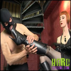 Release 09.05.2016 – SADO LADIES Femdom Clips – Leather Boots Slave Starring Domina Liza – Full HD-1080p,