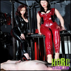 Release 18.05.2016 – FemmeFataleFilms – Mistress Charlotte, Mistress Lola Ruin – Impertinence Punished Part 1-2 – HD, rubber, spitting, trampling, depfile