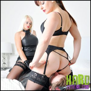 Release 18.05.2016 – FemmeFataleFilms – Divine Mistress Heather, Lady Mia Harrington – Lick and Grind Part 1-2 – HD, face sitting, gloves, leather, lingerie, depfile