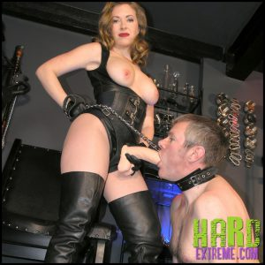 Release 09.05.2016 – TheEnglishMansion – Mistress T – Gloryhole Trainer Complete – HD, strapon sucking, strapon worship, depfile