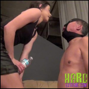 Release 16.05.2016 – DomNation – Domina Nikk – SLAPPED AROUND THEN SPAT OUT – HD, face spitting, spitting humiliation, depfile