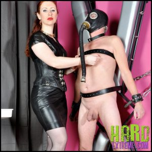 Release 20.05.2016 – FemmeFataleFilms – Mistress Lady Renee – Up Against The Wall Part 2 – HD, bondage, cbt, gas mask, depfile