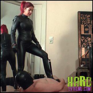 Rubber domination fetish