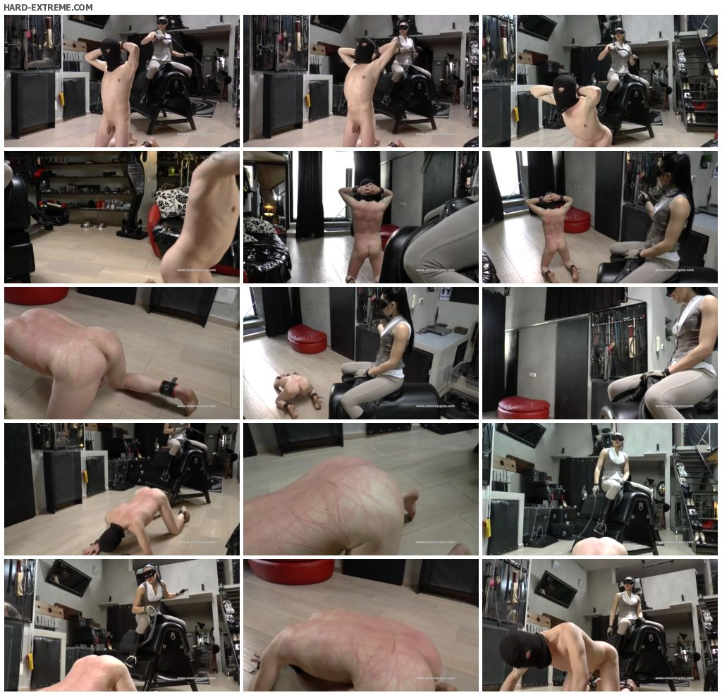 MISTRESS GAIA - HORSEWOMAN WHIPPING - 1st part_thumb