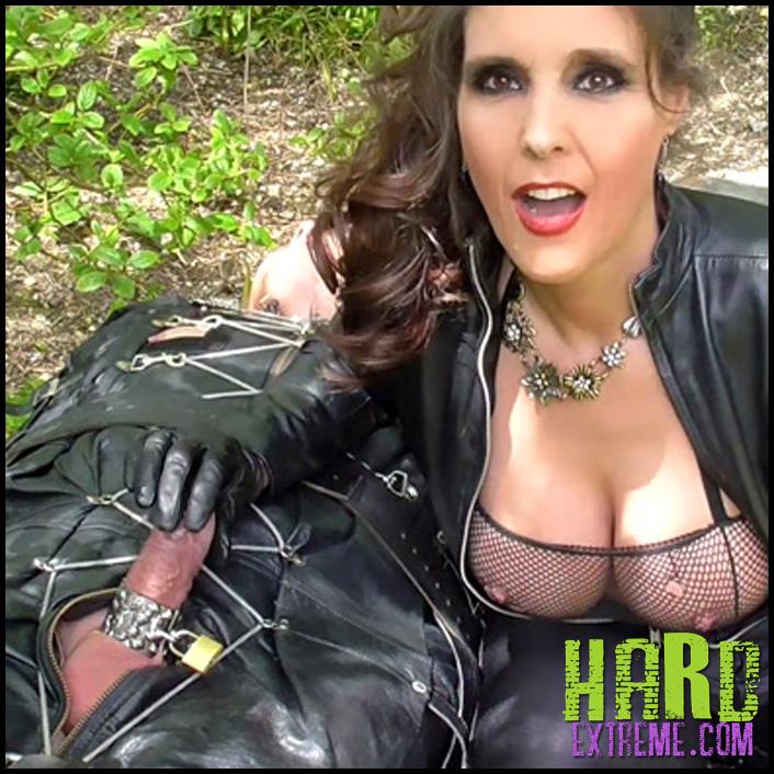 Release 21.05.2016 - Dominatrix Annabelle - I Spy Erotic Spring Frolics! - Full HD-1080p, handjob, femdom handjob, tied handjob