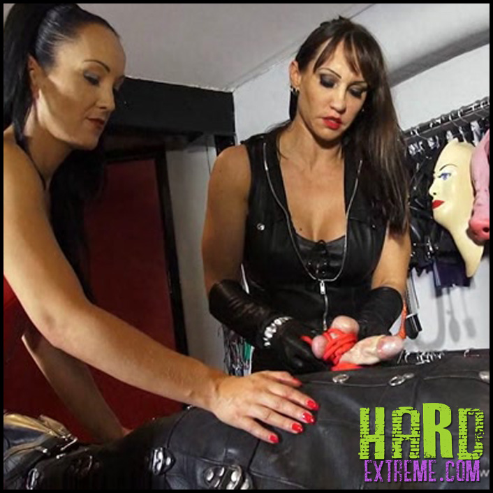 Release 21.05.2016 - TheBondageMistressClub - Leather Dildo Action - HD, , strap on, strap on fucking