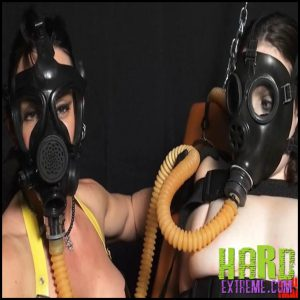 Release 27.06.2016 – Mistress Miranda and Dixon – Gas-mask Play Seriousimages – HD, bondage, gas-mask
