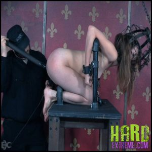 Release 27.06.2016 – Naive Young Slut Wanders Into Trouble – Zoey Laine InfernalRestraints – HD, Caning, Dildo, drool, Foot Torture, Head Cage