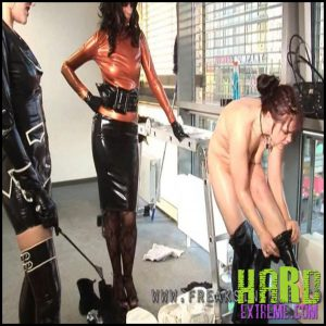 Release 23.07.2016 – Transformation To A Rubber Maid – Baroness Bijou, Shinyaline And Mercedes Part One. Freaksinside – HD, latex, Mercedes