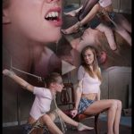 Release 27.07.2016 – Flexible Kassie Kay Bound and Throat Fucked While Cumming on Vibrator – HD, Kinky Porn, Male Domination