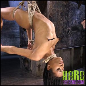 Release 10.07.2016 – All Natural Ebony Newcomer in Brutal Bondage and Suffering Like a Pro – Kira Noir. Hogtied – HD, humiliation, Kira Noir, Submission, torture