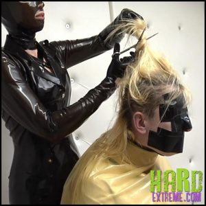 Release 16.07.2016 – Buzz Cut – Anna Rose and Lady Arrakis Part 1. AlterPic – HD, latex, Latex Mask, Steel High Heels