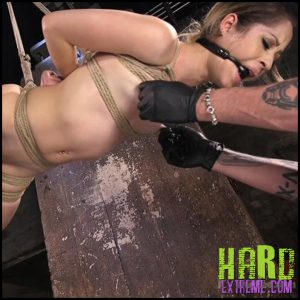 Release 09.07.2016 – Cute LA Porn Slut in Brutal Bondage and Abused then Made to Cum – Goldie Rush. Hogtied – HD, bondage, Brutal Bondage, Domination