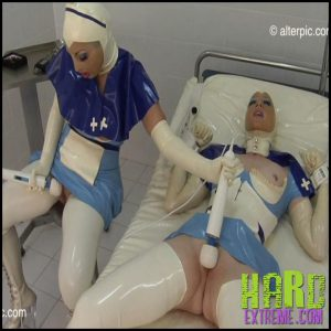 Release 19.07.2016 – Special Care – Anna Rose and Valentina Fetish Doll Part 2. AlterPic – HD, Nurse Uniform, orgasms, pussy, Segufix