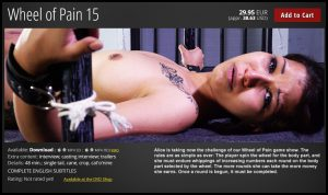 Release 22.07.2016 – Wheel of Pain 15 – Full HD-1080p, bdsm sex videos, bdsm videos